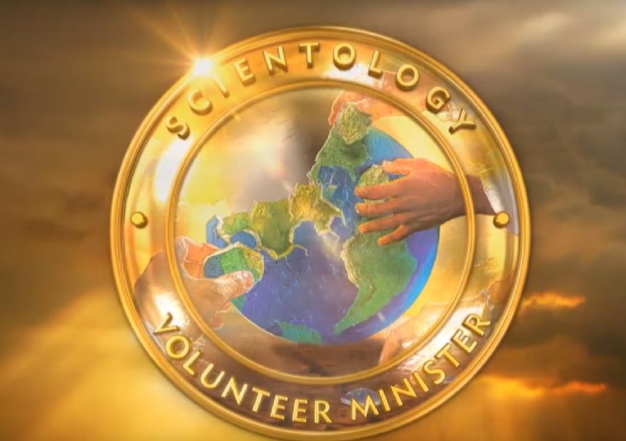 Szcientológia önkéntes lelkészek logó
