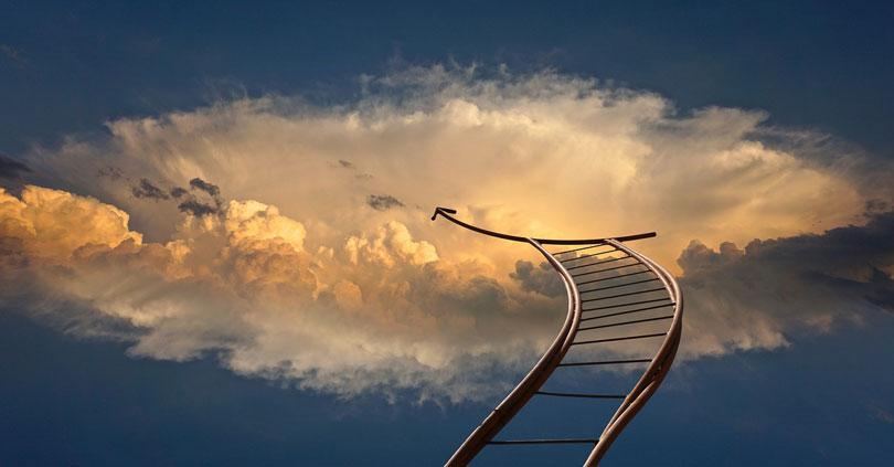 Egy felhőbe vezető létra
