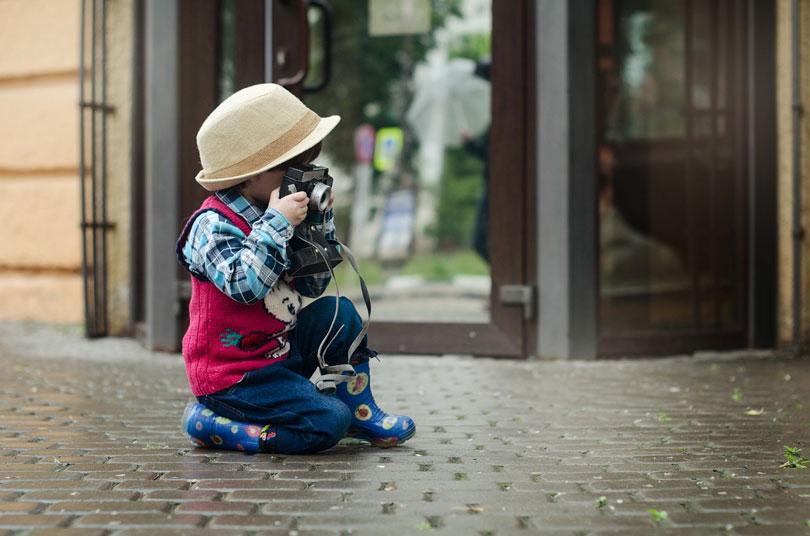 Egy fényképező is gyerek - gyereknevelés